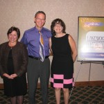 Patty Ryan (Lakewood Chamber of Commerce), Jim Smith, and Diane Helbig (Seize This Day Coaching).