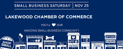 Small Business Saturday is November 25th