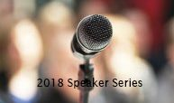 Announcing the 2018 Speaker Series