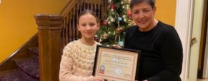 "Zenovia Parkanzky winner of ""Why I Love Lakewood"" Essay Contest!"