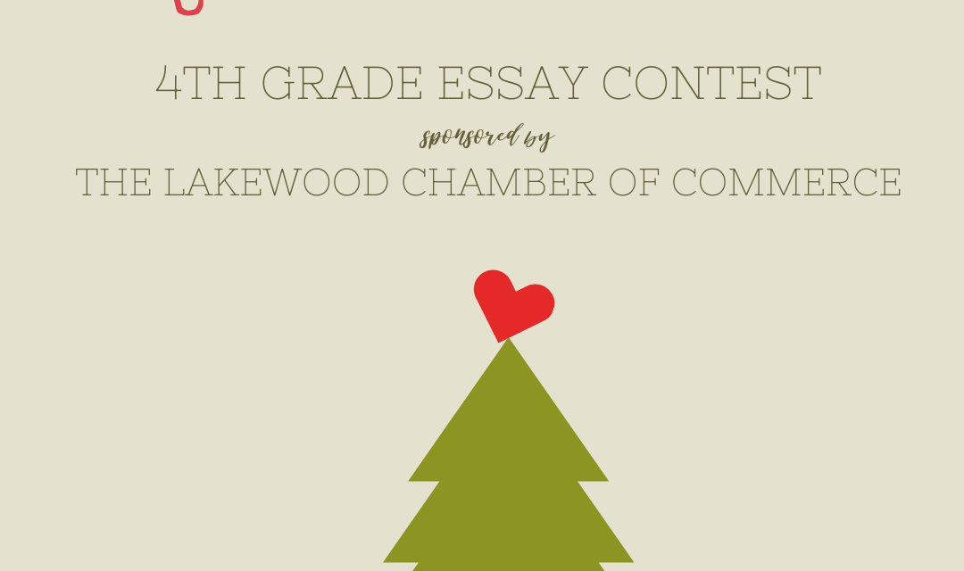 """Congratulations to Jonah McAlister, 2020 Winner of the  """"Why I Love Lakewood"""" 4th Grade Essay Contest!"""