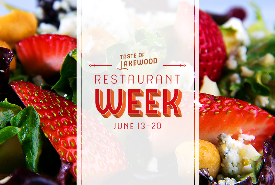 Taste of Lakewood Restaurant week –                      restaurants register here
